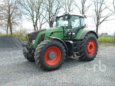 2009 FENDT 936 VARIO MFWD Tractor