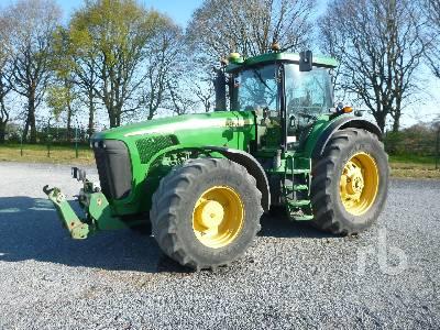 2006 JOHN DEERE 8520 MFWD Tractor