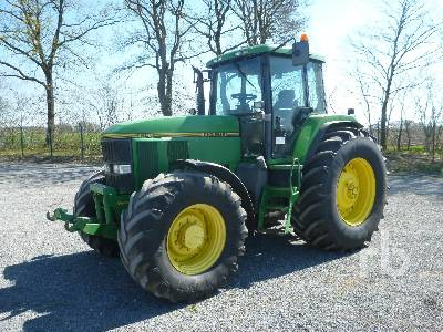 1998 JOHN DEERE 7800 MFWD Tractor