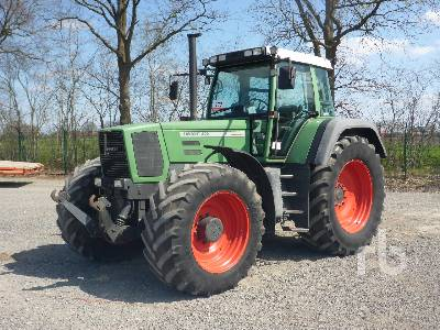 1995 FENDT FAVORIT 822 MFWD Tractor
