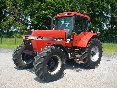 1995 CASE IH MAGNUM 7210 MFWD Tractor