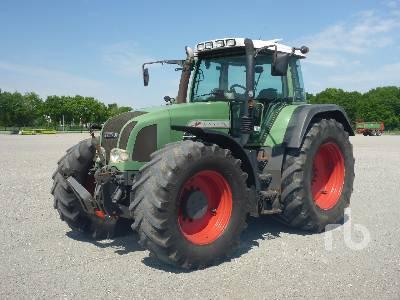 2001 FENDT FAVORIT 926 Vario MFWD Tractor