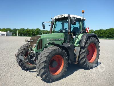 2004 FENDT 817 VARIO TMS MFWD Tractor
