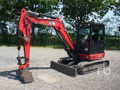 2018 JCB 57C-1 Midi Excavator (5 - 9.9 Tons)