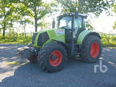 2012 CLAAS AXION 850 MFWD Tractor