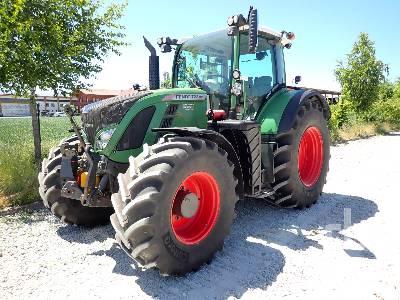 2015 FENDT 722 VARIO PROFI MFWD Tractor