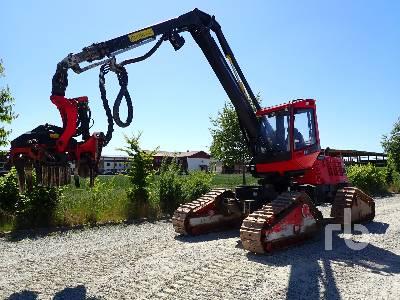 2014 KOMATSU 911.5 X3M Crawler Harvester