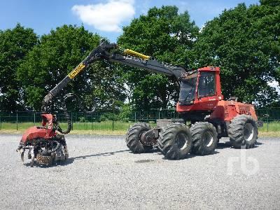 2004 KOMATSU 941 6x6 Harvester