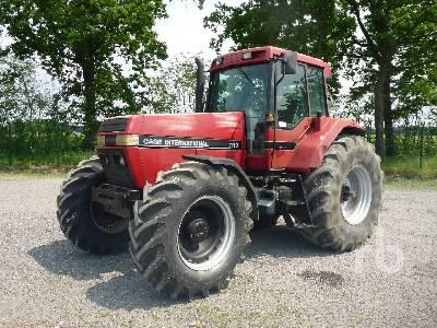 1992 CASE IH MAGNUM 7110 MFWD Tractor