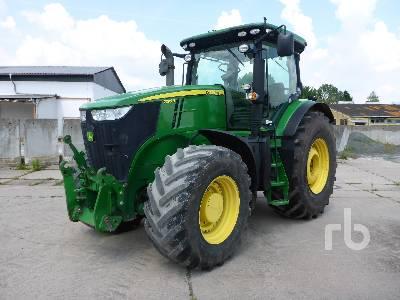 JOHN DEERE 7230R MFWD Tractor
