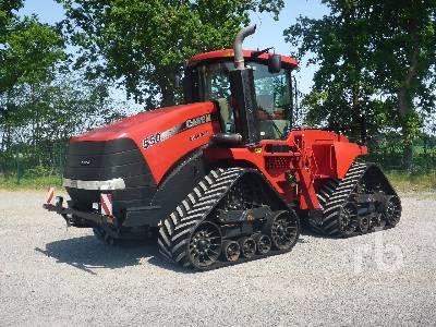 2012 CASE IH QUADTRAC 550 Track Tractor