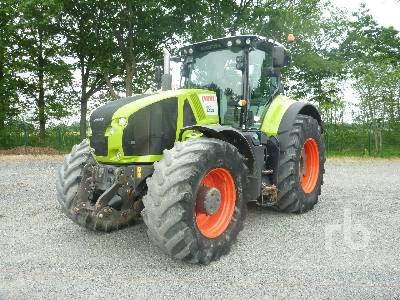 2014 CLAAS AXION 920 Cmatic MFWD Tractor