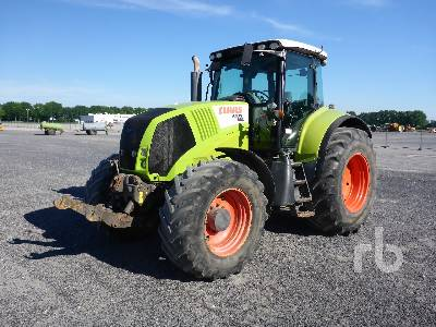 2008 CLAAS AXION 820 MFWD Tractor