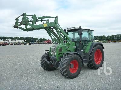 2008 FENDT 412 VARIO MFWD Tractor
