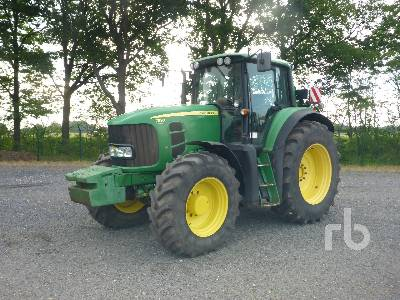 2008 JOHN DEERE 7530 Premium MFWD Tractor