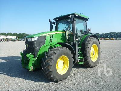 2015 JOHN DEERE 7230R MFWD Tractor