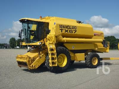 2001 NEW HOLLAND TX67 4x4 Combine