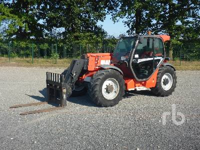 2013 MANITOU MLT940-120H 4x4x4 Telescopic Forklift