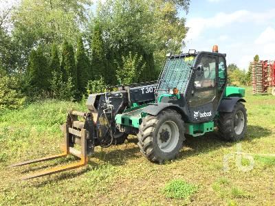 2001 BOBCAT T3071 4x4x4 Telescopic Forklift