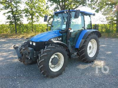 NEW HOLLAND TL100 MFWD Tractor