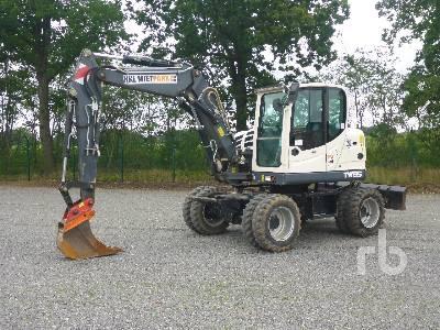 2015 TEREX TW85 4x4 Mobile Excavator
