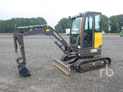 2021 VOLVO ECR25D Mini Excavator (1 - 4.9 Tons)