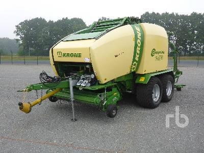 2010 KRONE CV150XC Round Baler