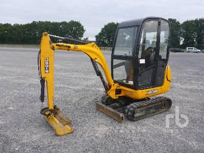 2008 JCB 8018 Mini Excavator (1 - 4.9 Tons)