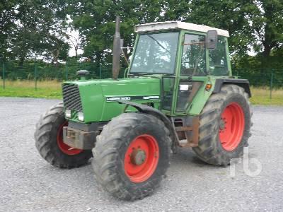 1981 FENDT 309 LSA MFWD Tractor