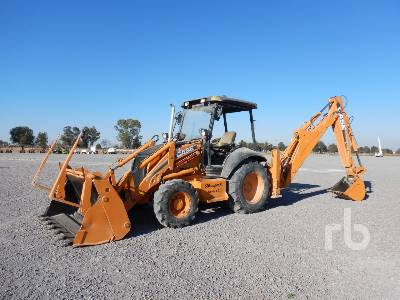2007 CASE 580SR 4x4 Loader Backhoe