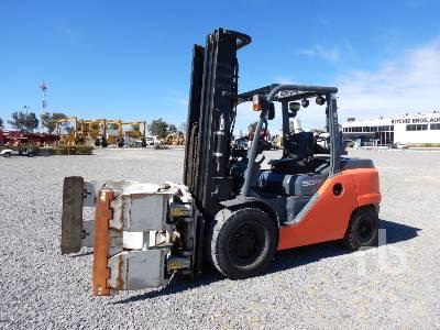 2015 TOYOTA 8FG50 6800 Lb Forklift