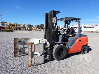 2015 TOYOTA 8FG50 9500 Lb Forklift
