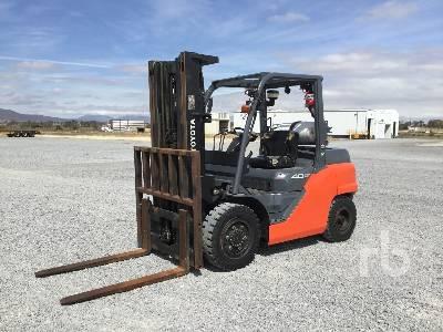 2015 TOYOTA 8FG40U 9300 Lb Forklift