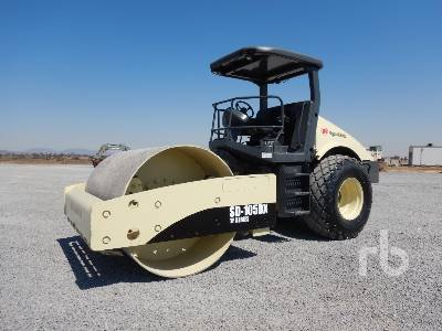 2002 INGERSOLL-RAND SD105DXTF Vibratory Roller