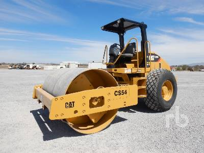 2012 CATERPILLAR CS54 Vibratory Roller