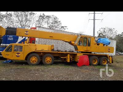 1976 PETTIBONE 60T 60 Ton Hydraulic Truck Crane