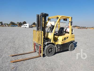2016 HYSTER H50FT 4800 Lb Forklift