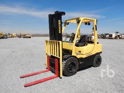 2013 HYSTER H60FT 5700 Lb Forklift