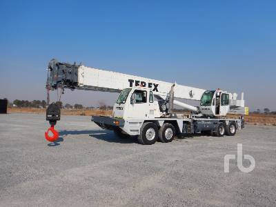 2003 TEREX T775 75 Ton 8x4x4 Hydraulic Truck Crane