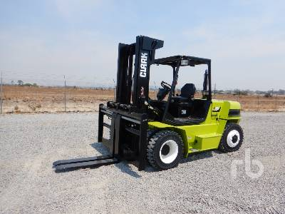 2017 CLARK C75D 16200 Lb Forklift