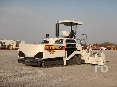 2010 TEREX VDA700SM Crawler Asphalt Paver
