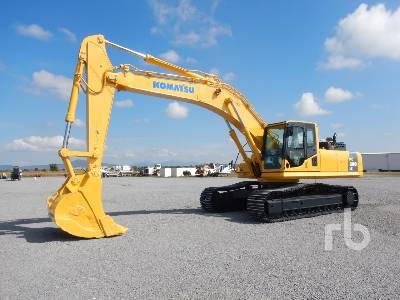 2009 KOMATSU PC300LC-8 Hydraulic Excavator