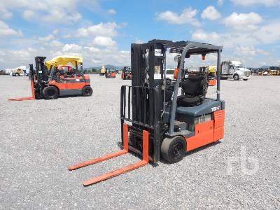 2009 TOYOTA 7FBEU15 3400 Lb Electric Forklift