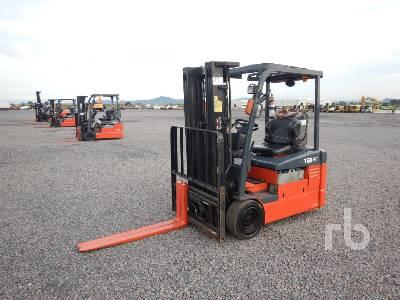 2009 TOYOTA 7FBEU18 3400 Lb Electric Forklift