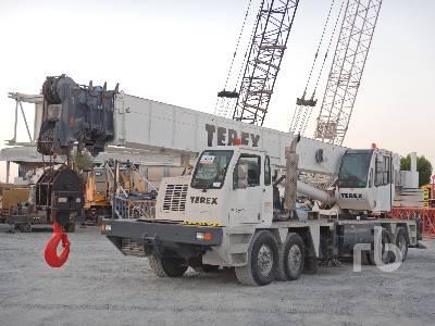 2004 TEREX T775 75 Ton 8x4x4 Hydraulic Truck Crane