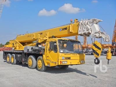 XCMG QY50K 50 Ton 8x4x4 Hydraulic Truck Crane