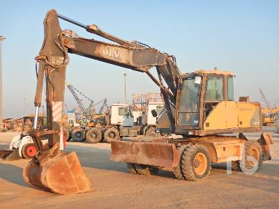 2007 VOLVO EW160B Mobile Excavator