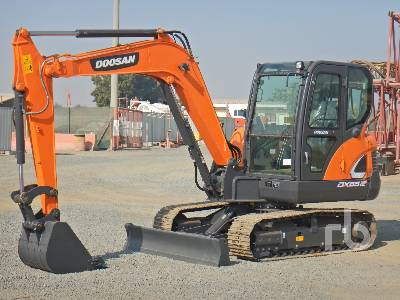 Unused 2020 DOOSAN DX55-9C ACE Midi Excavator (5 - 9.9 Tons)