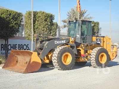 2017 JOHN DEERE WL53 High Lift Wheel Loader