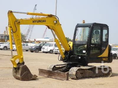HYUNDAI R60-7 Midi Excavator (5 - 9.9 Tons)